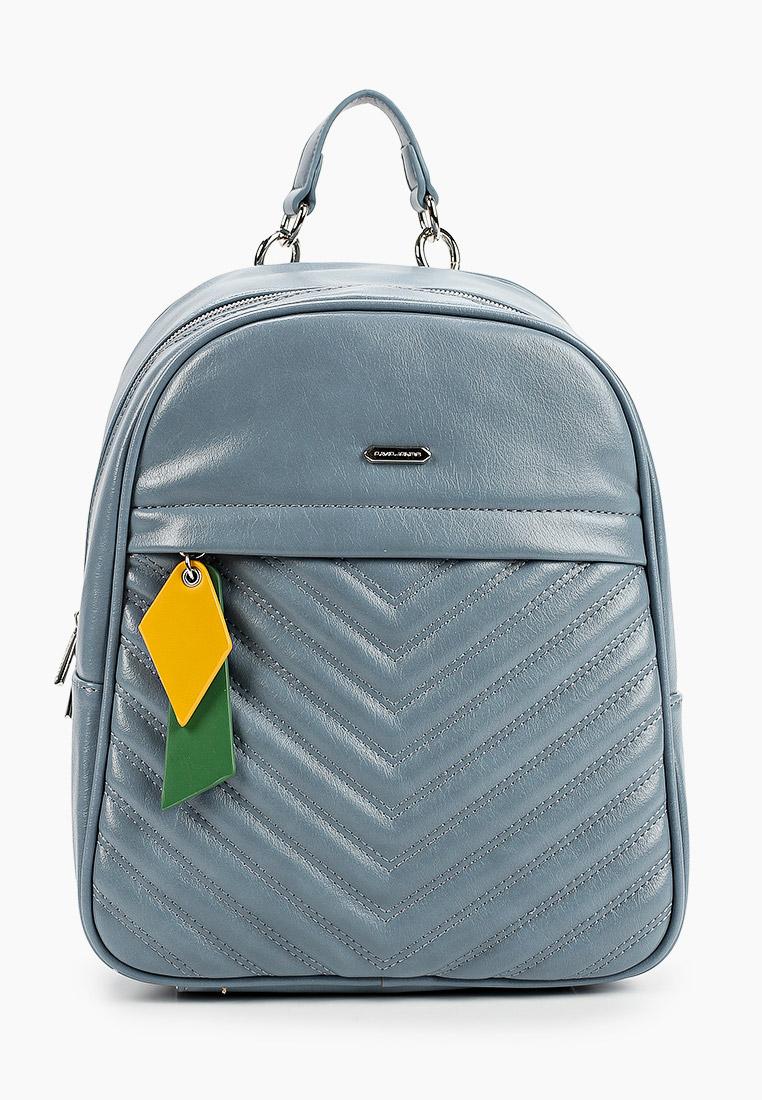 Городской рюкзак David Jones (Дэвид Джонс) 6227-3_голубой