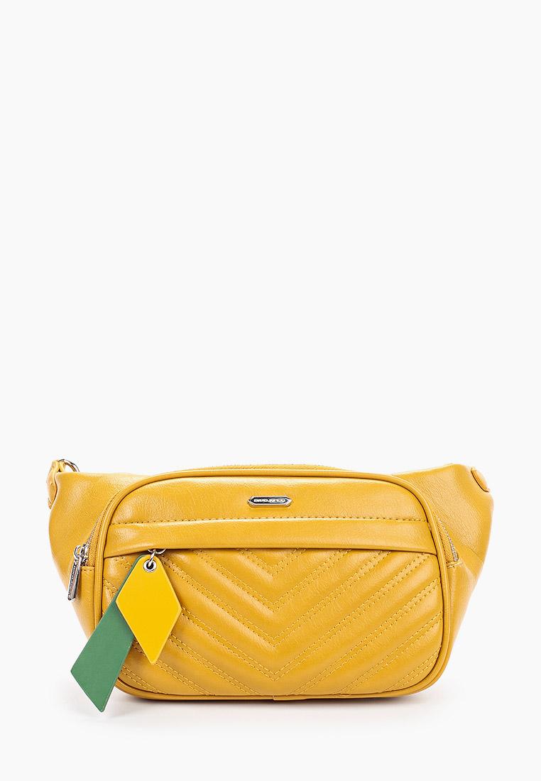 Поясная сумка David Jones (Дэвид Джонс) 6227-1_желтый