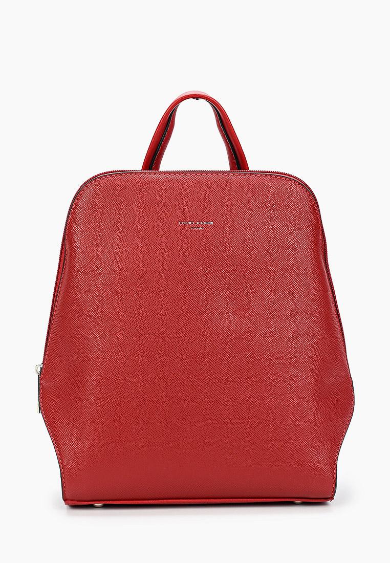 Городской рюкзак David Jones (Дэвид Джонс) 6248-1_красный