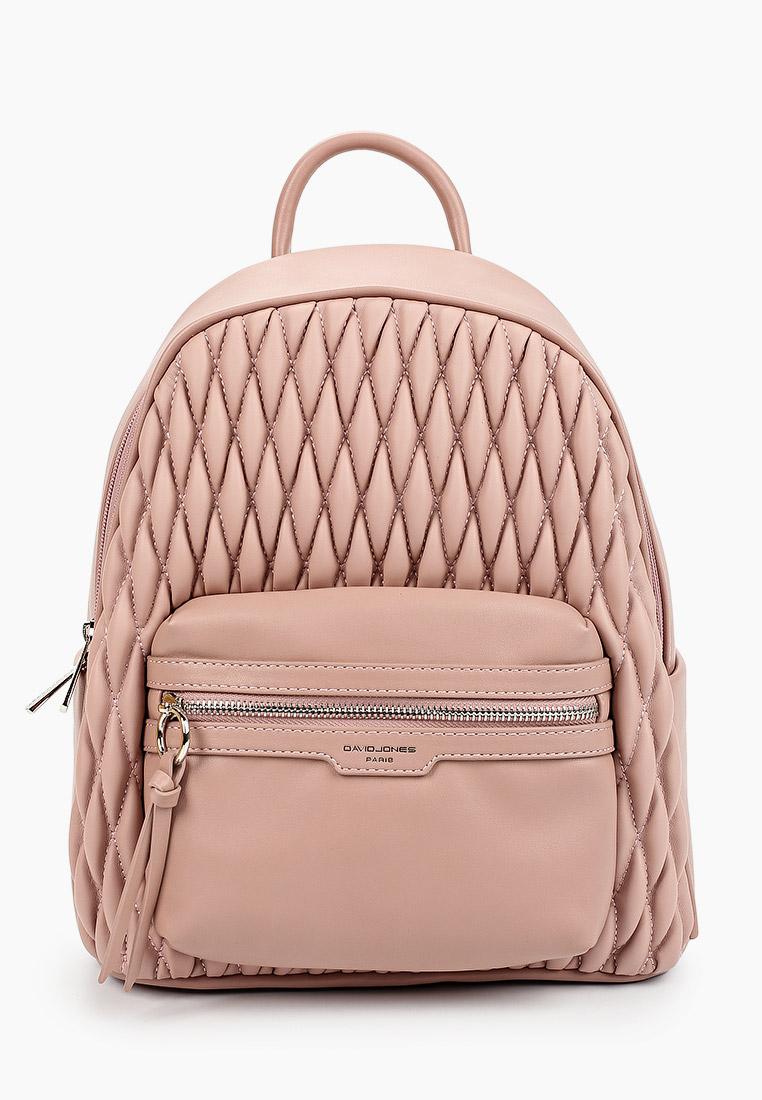 Городской рюкзак David Jones (Дэвид Джонс) 6266-2_розовый