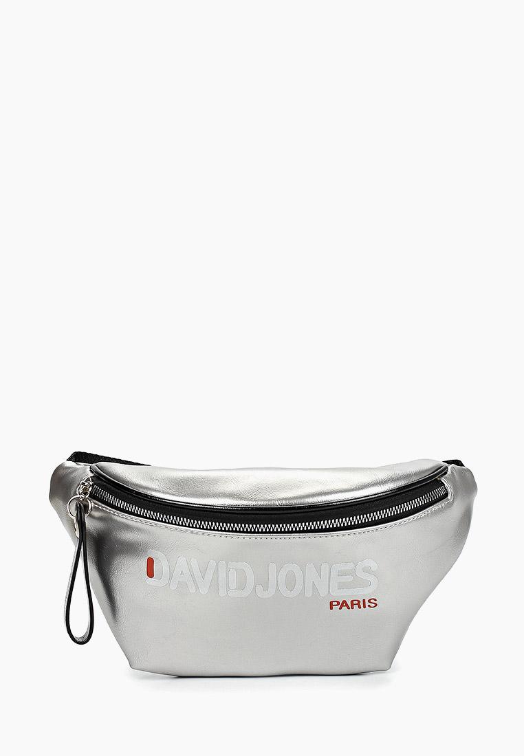 Поясная сумка David Jones (Дэвид Джонс) 6237-1_серебро