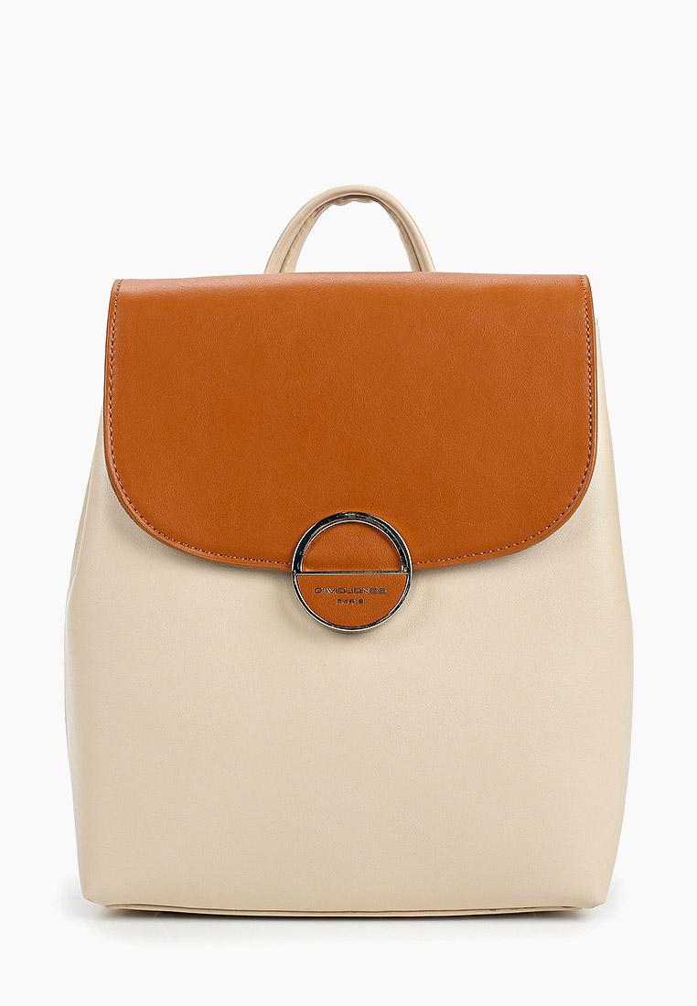 Городской рюкзак David Jones (Дэвид Джонс) 6233-2_рыжий