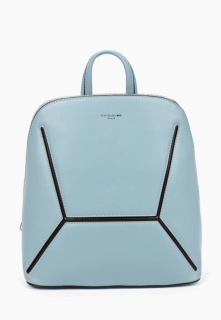 Городской рюкзак David Jones (Дэвид Джонс) 6261-2_голубой