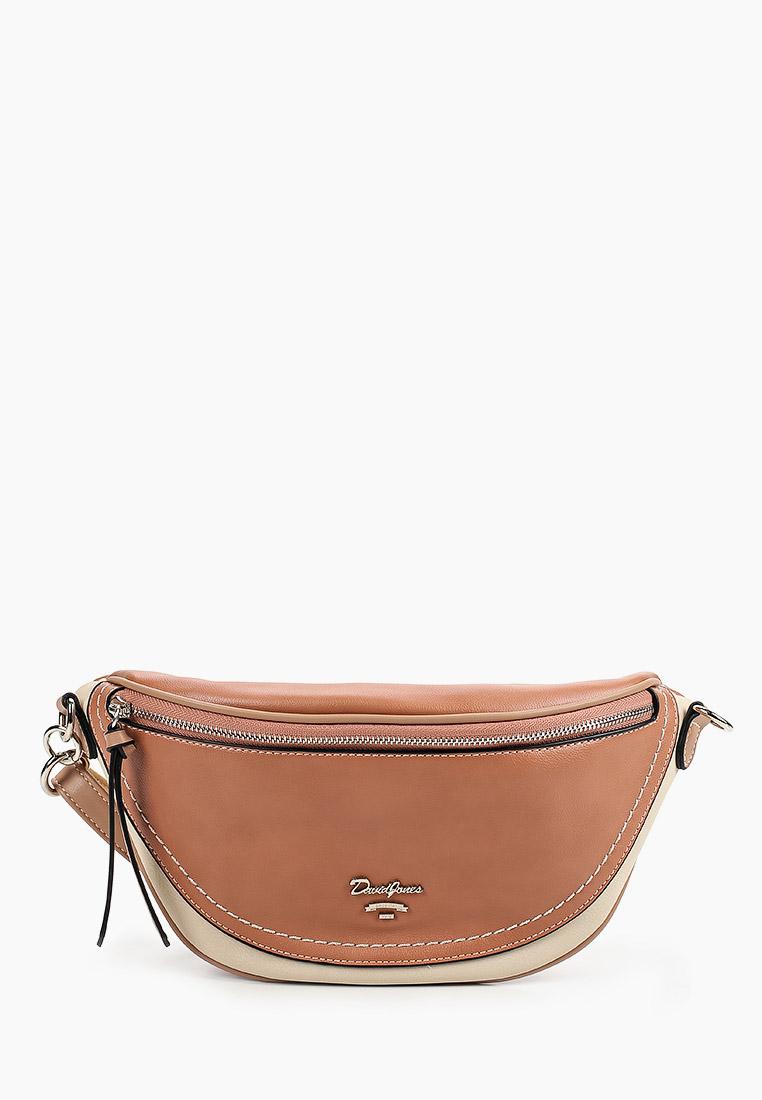 Поясная сумка David Jones (Дэвид Джонс) 6204-1_розовый