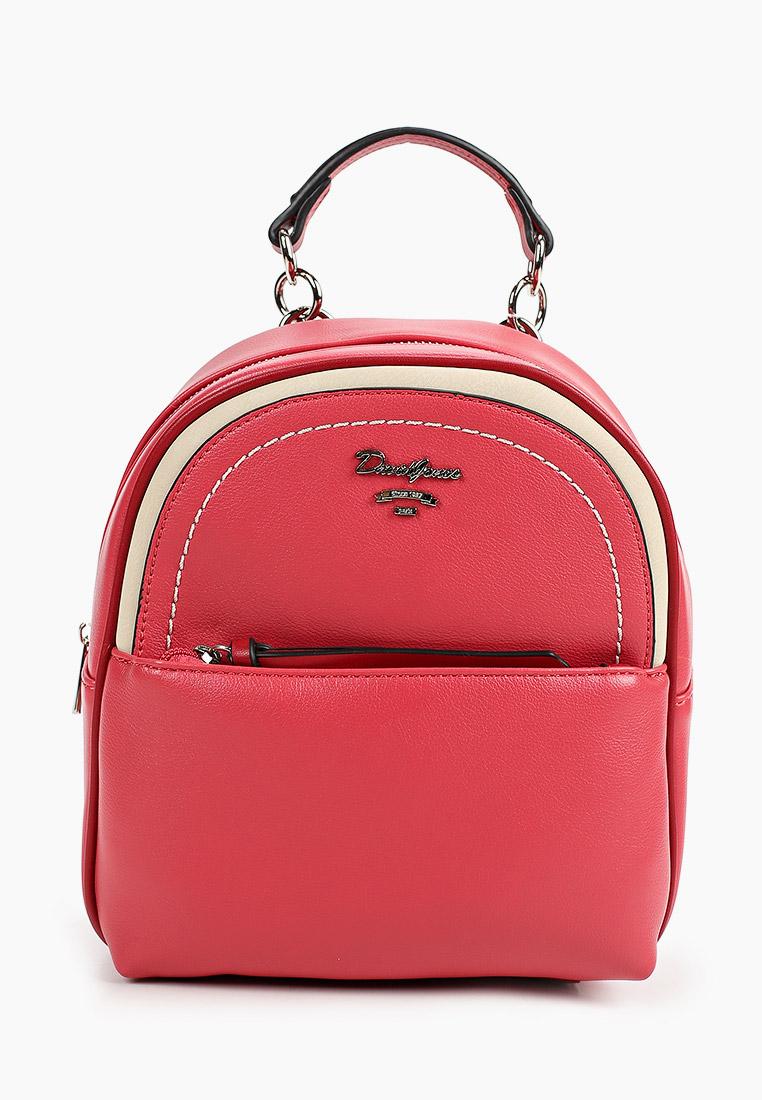 Городской рюкзак David Jones (Дэвид Джонс) 6204-3_красный