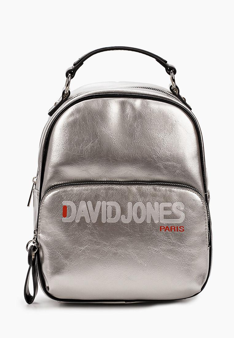 Городской рюкзак David Jones (Дэвид Джонс) 6237-4_серебро