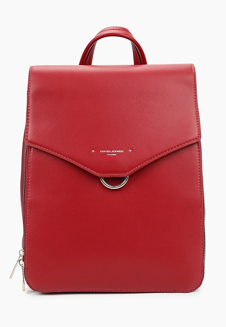 Городской рюкзак David Jones (Дэвид Джонс) 6424-2_красный