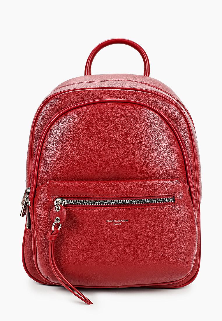 Городской рюкзак David Jones (Дэвид Джонс) 6418-2_красный