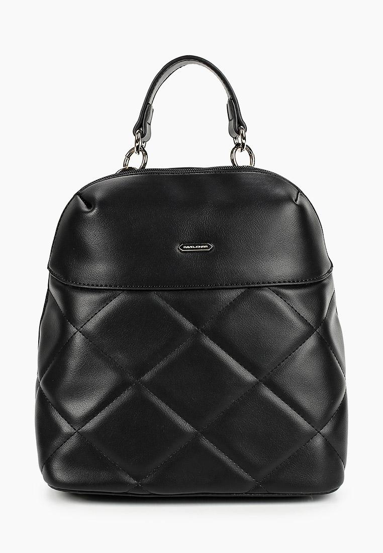 Городской рюкзак David Jones (Дэвид Джонс) 6420-1_черный: изображение 1