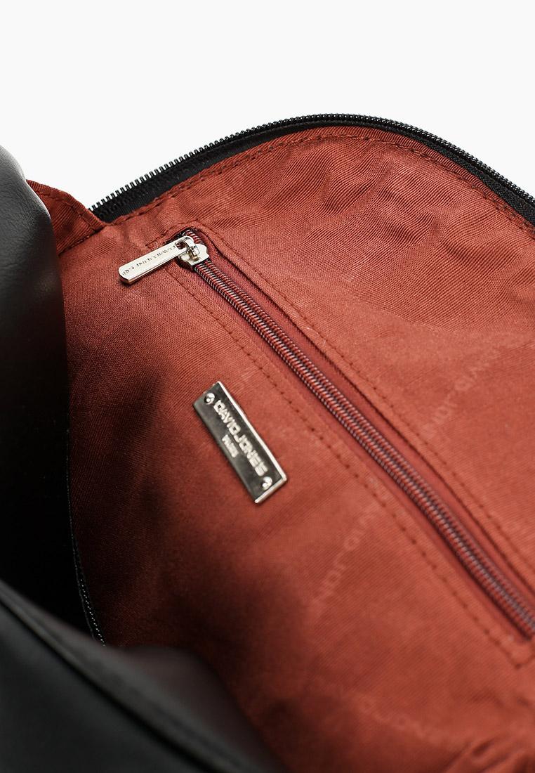 Городской рюкзак David Jones (Дэвид Джонс) 6420-1_черный: изображение 3