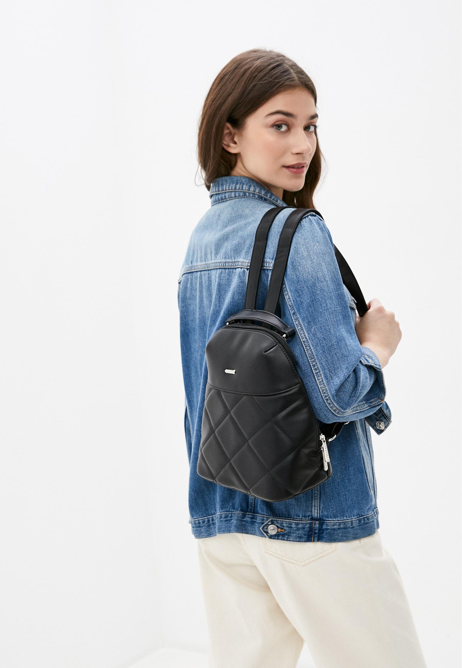 Городской рюкзак David Jones (Дэвид Джонс) 6420-1_черный: изображение 4