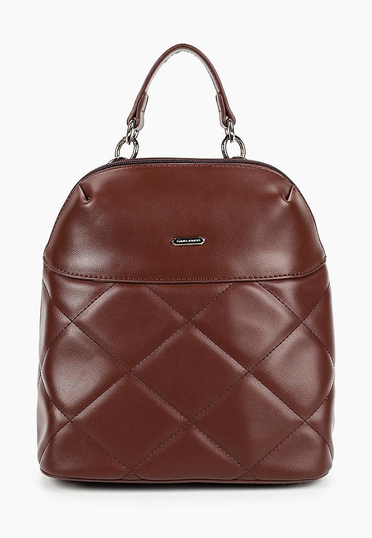 Городской рюкзак David Jones (Дэвид Джонс) 6420-1_темно-коричневый