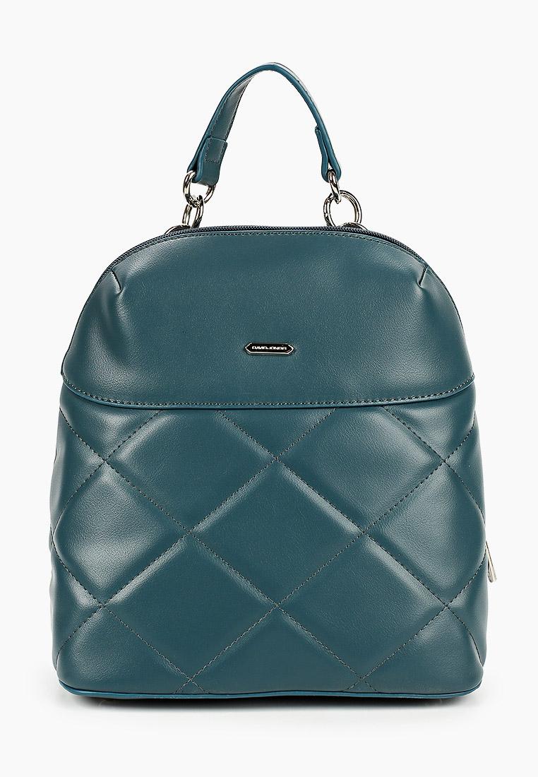 Городской рюкзак David Jones (Дэвид Джонс) 6420-1_бирюзовый