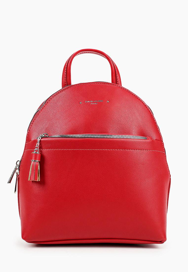 Городской рюкзак David Jones (Дэвид Джонс) 6415-3_красный