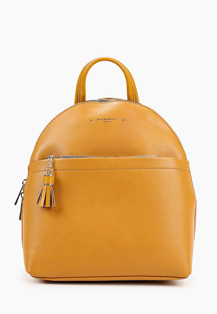 Городской рюкзак David Jones (Дэвид Джонс) 6415-3_желтый