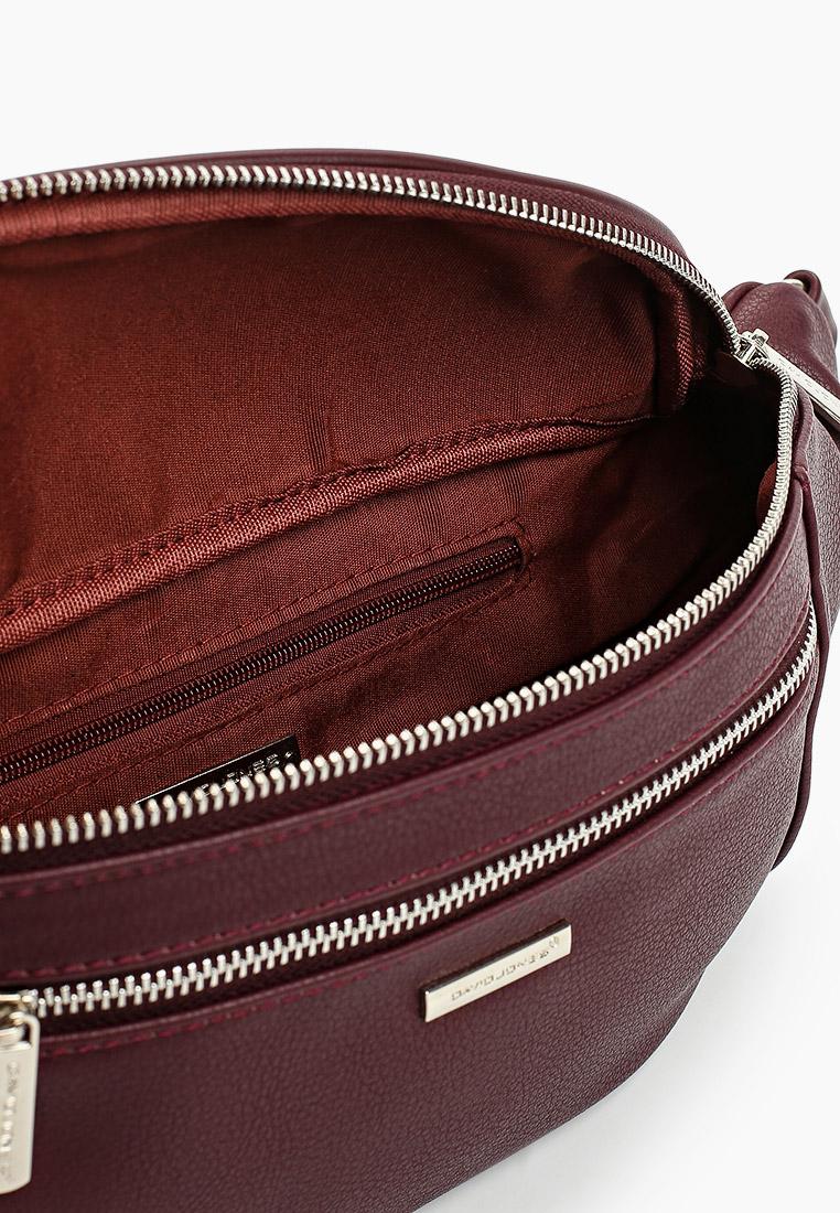 Поясная сумка David Jones (Дэвид Джонс) CM5821_бордовый: изображение 3