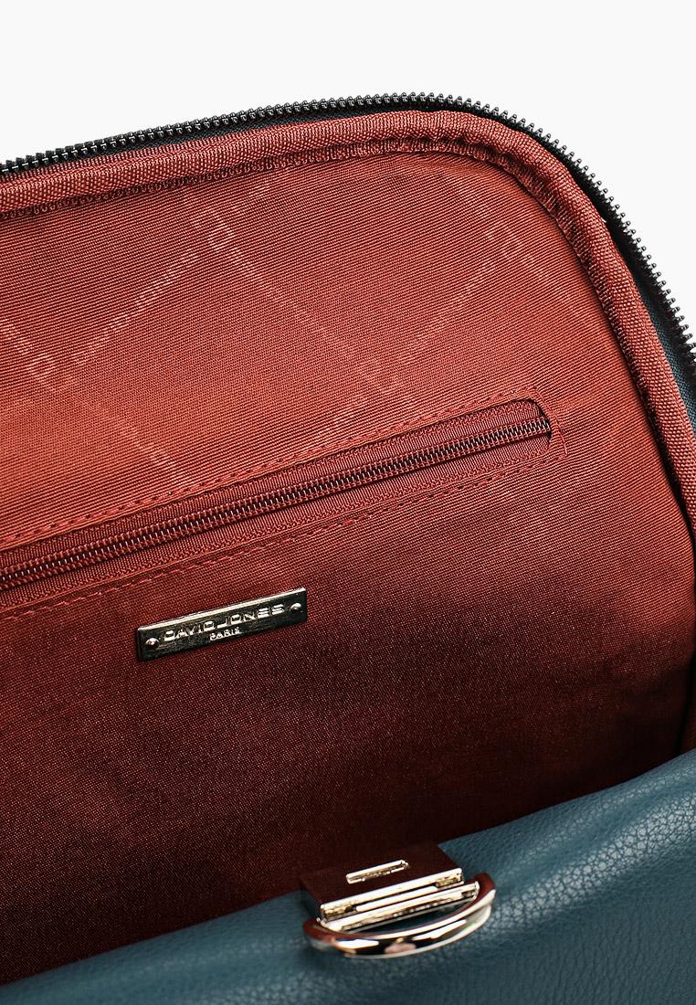 Городской рюкзак David Jones (Дэвид Джонс) CM5876_бирюзовый: изображение 3