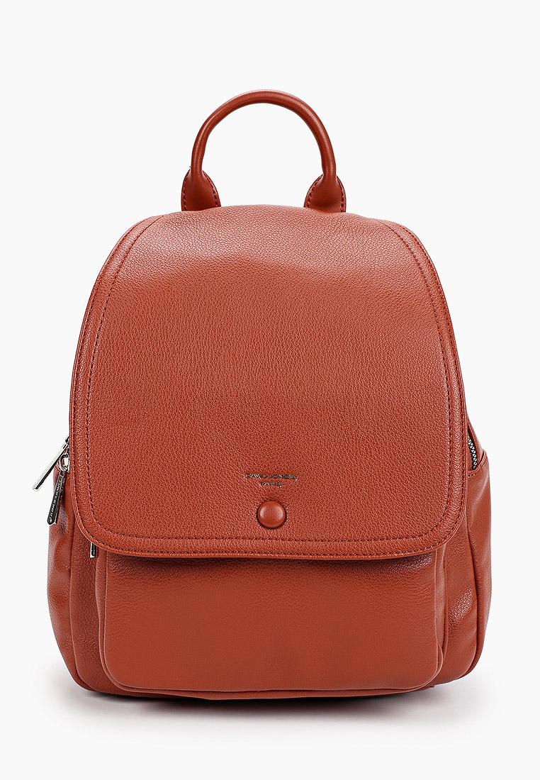 Городской рюкзак David Jones (Дэвид Джонс) 6428-2_охра