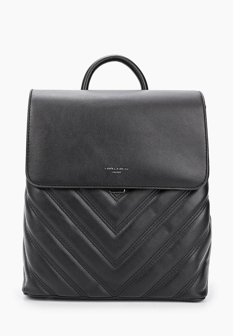Городской рюкзак David Jones (Дэвид Джонс) 6440-2_черный