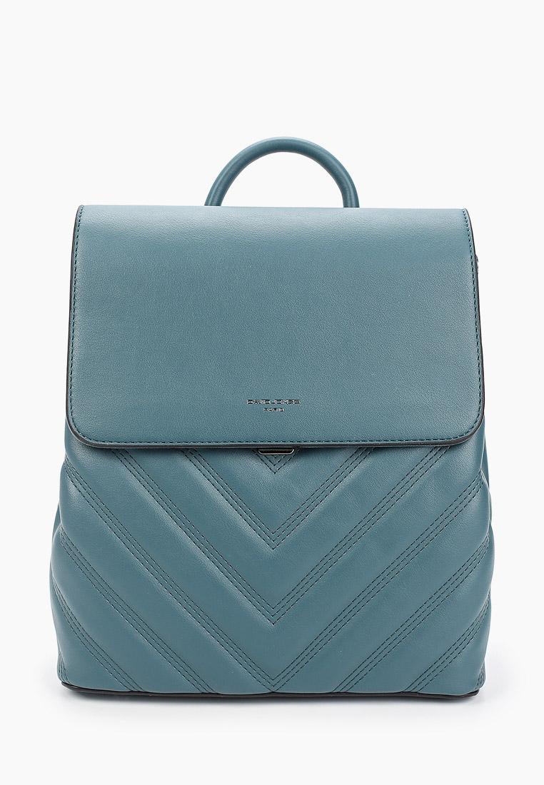 Городской рюкзак David Jones (Дэвид Джонс) 6440-2_бирюзовый