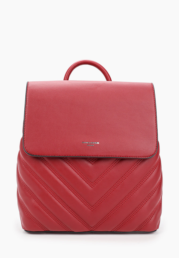 Городской рюкзак David Jones (Дэвид Джонс) 6440-2_красный