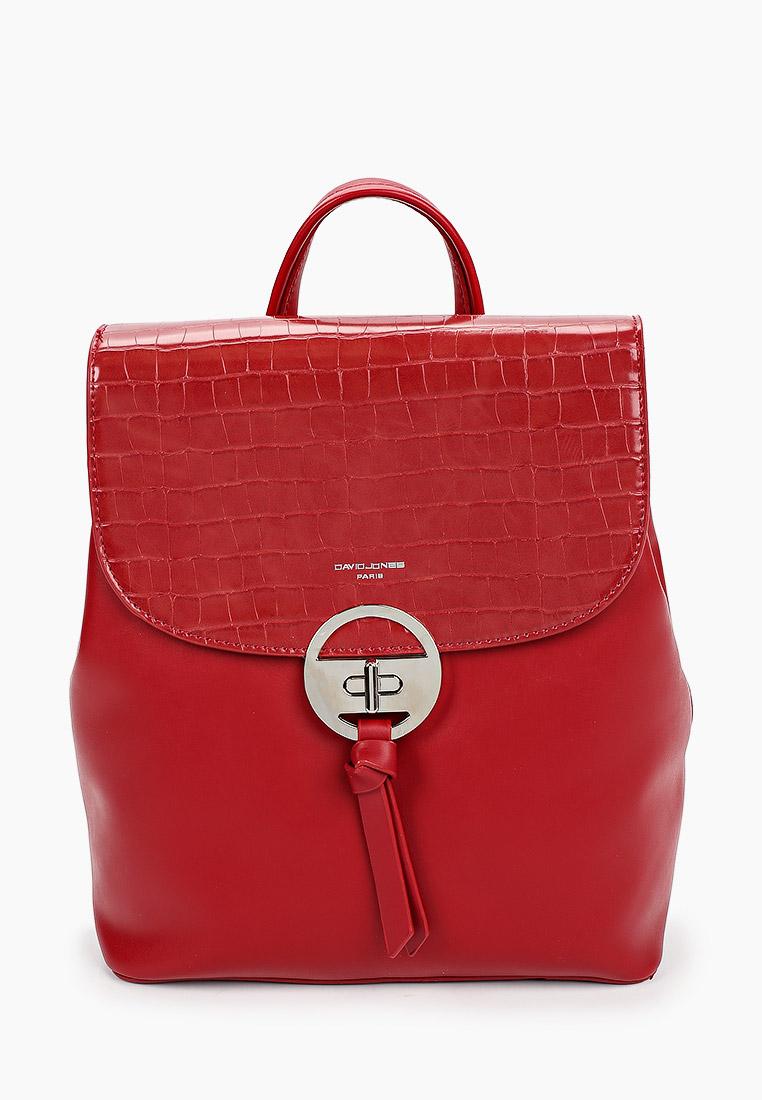 Городской рюкзак David Jones (Дэвид Джонс) 6447-2_красный