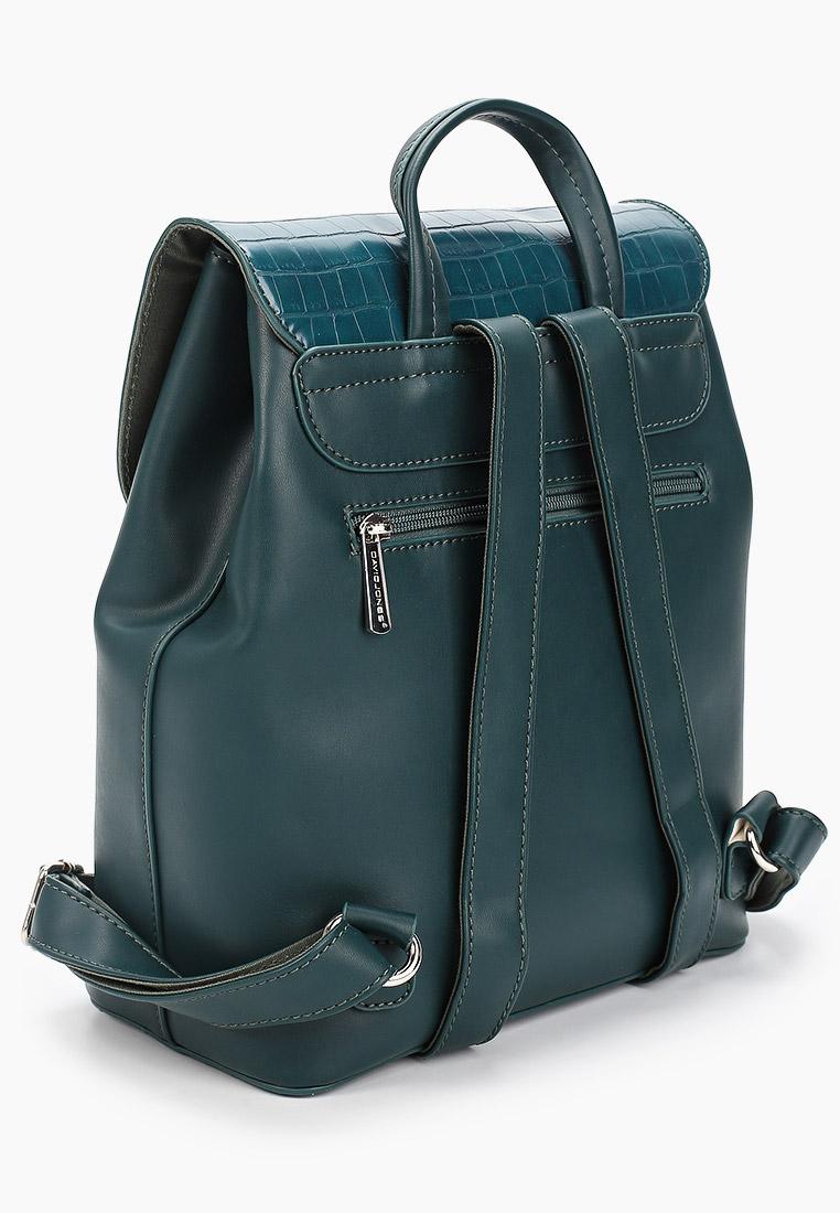 Городской рюкзак David Jones (Дэвид Джонс) 6447-2_зеленый: изображение 2