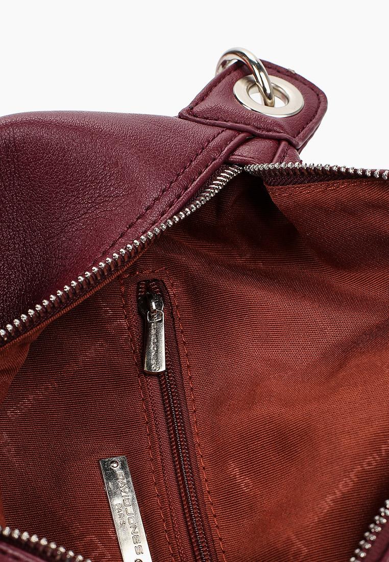 Поясная сумка David Jones (Дэвид Джонс) CM5823_бордовый: изображение 3