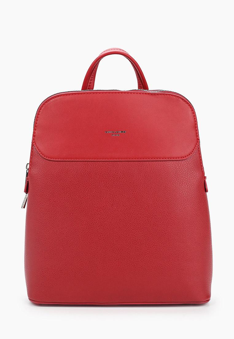 Городской рюкзак David Jones (Дэвид Джонс) CM5864_красный