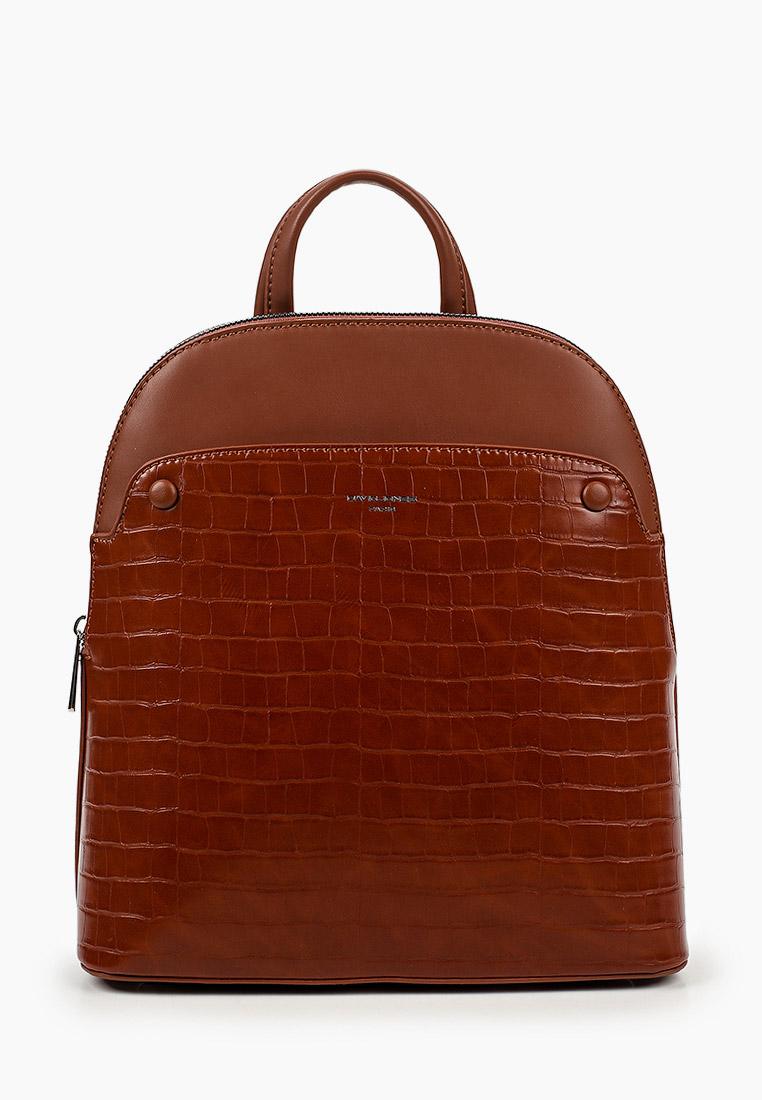 Городской рюкзак David Jones (Дэвид Джонс) 6444-2_коричневый
