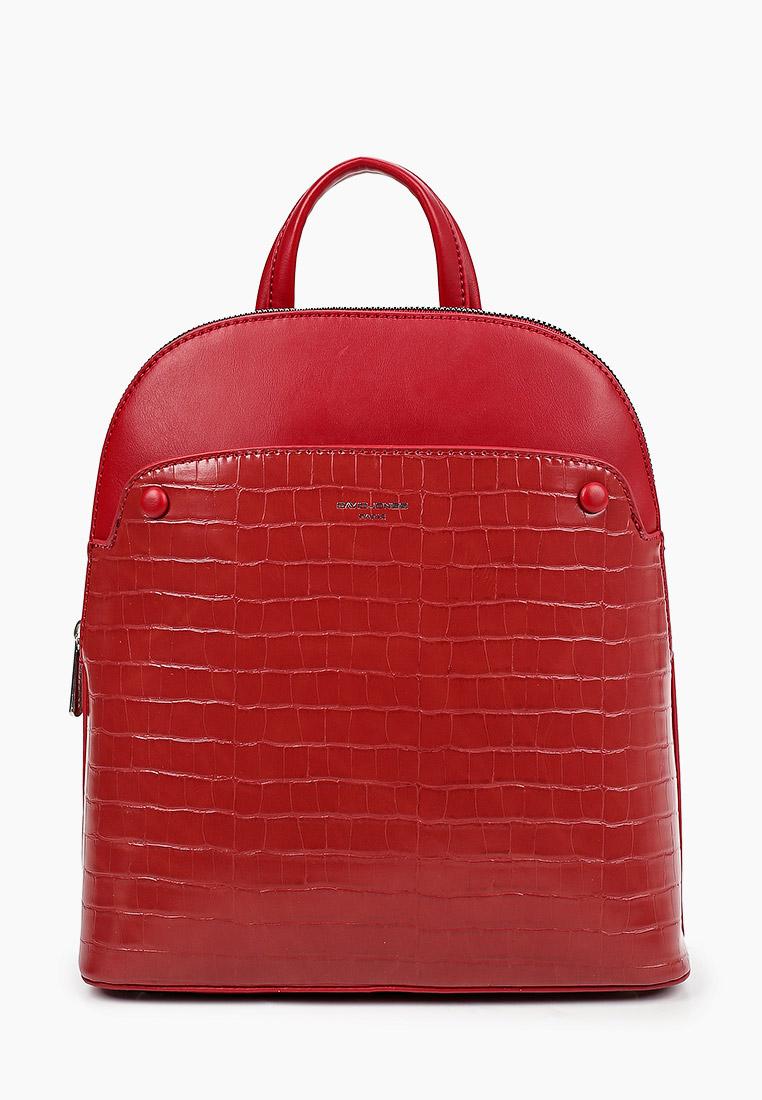 Городской рюкзак David Jones (Дэвид Джонс) 6444-2_красный