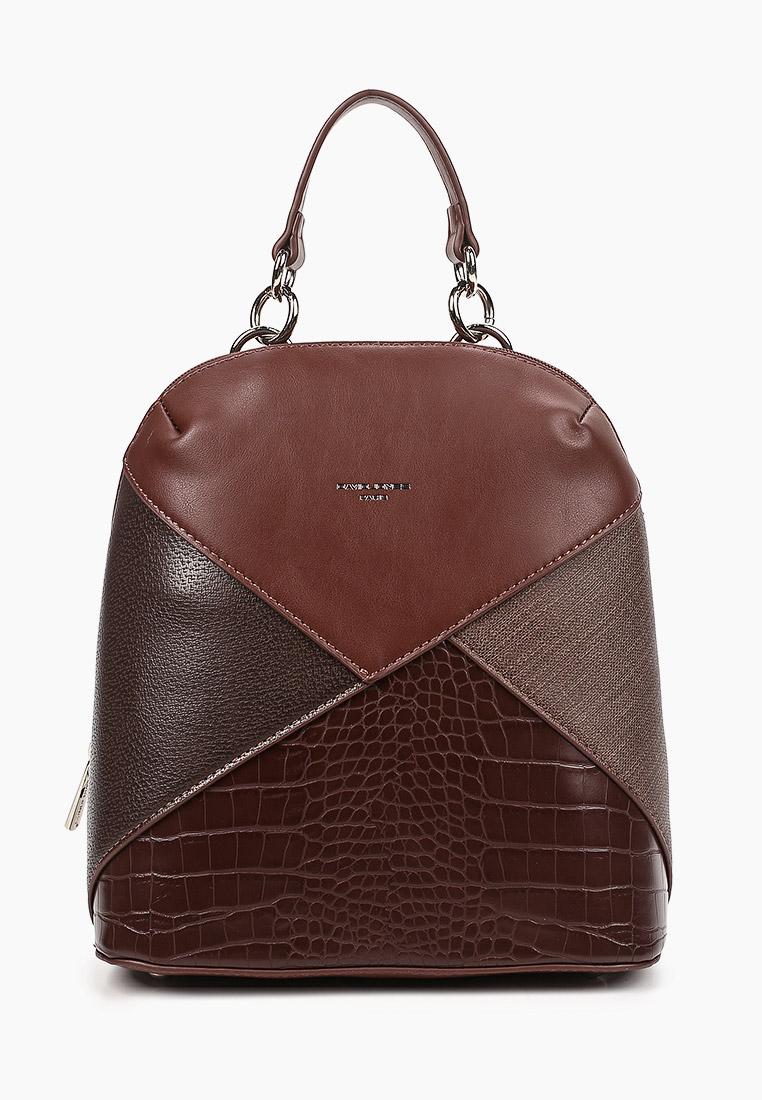 Городской рюкзак David Jones (Дэвид Джонс) 6406-2_т.-коричневый
