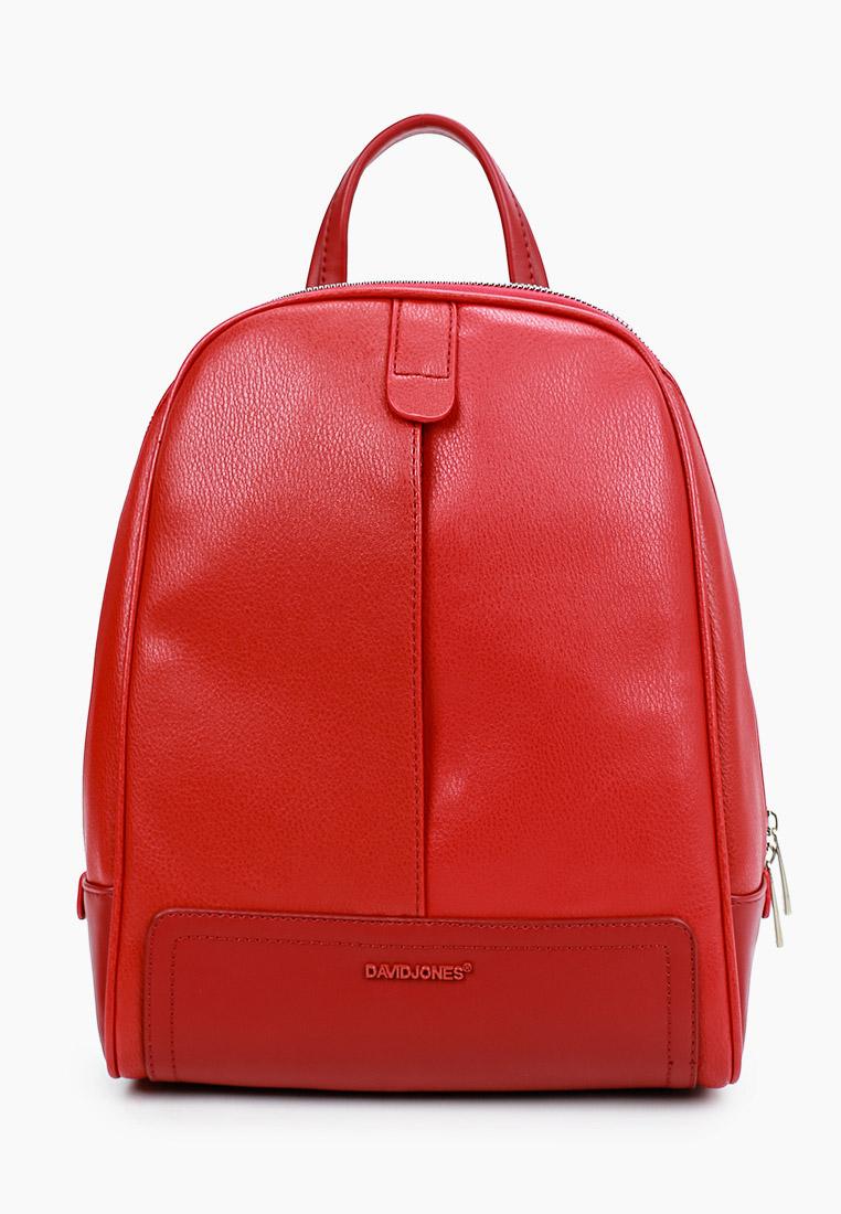 Городской рюкзак David Jones (Дэвид Джонс) CM6014_красный: изображение 1