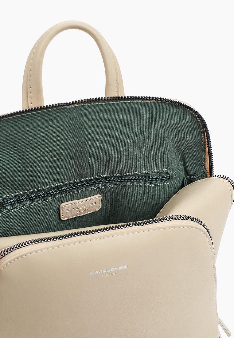 Городской рюкзак David Jones (Дэвид Джонс) CM6031_бежевый: изображение 3