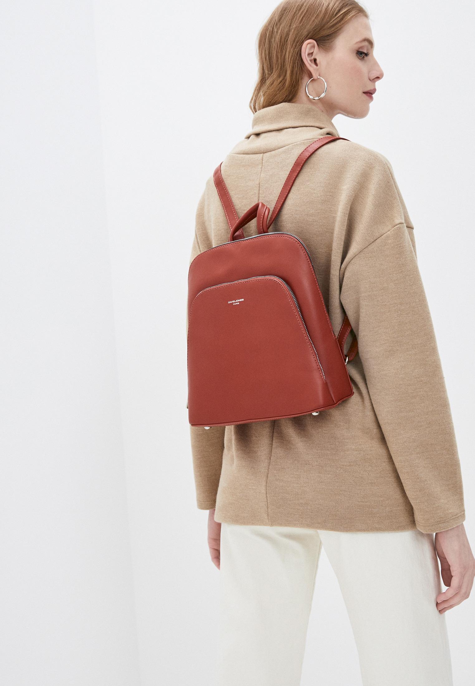 Городской рюкзак David Jones (Дэвид Джонс) CM6031_охра: изображение 4