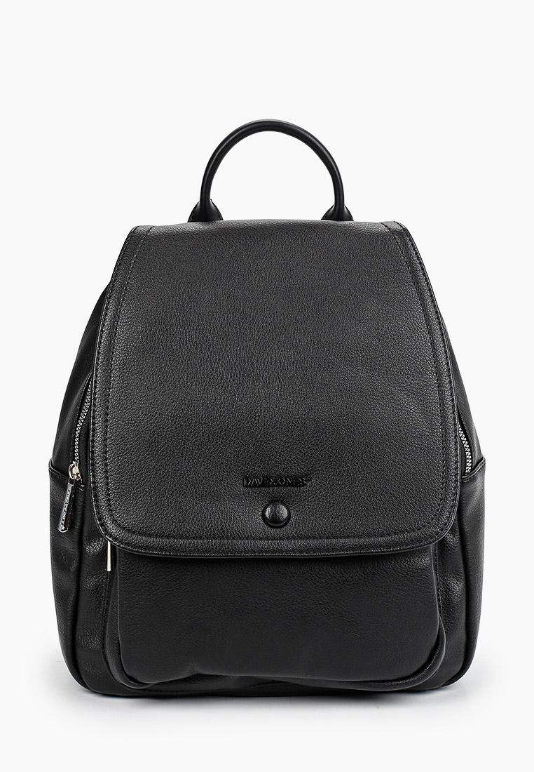Городской рюкзак David Jones (Дэвид Джонс) 6504-2_черный: изображение 1