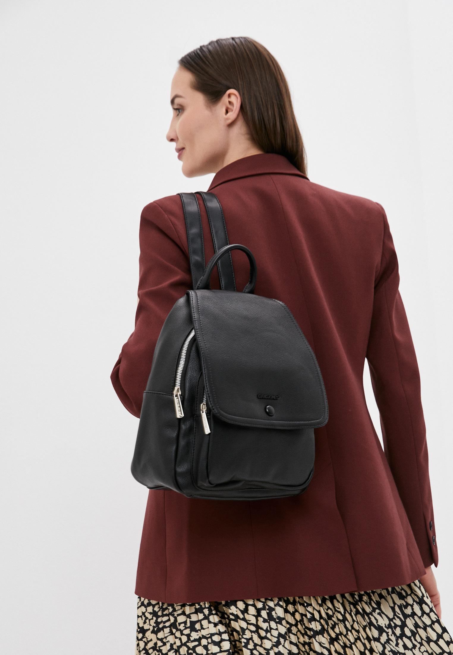 Городской рюкзак David Jones (Дэвид Джонс) 6504-2_черный: изображение 4