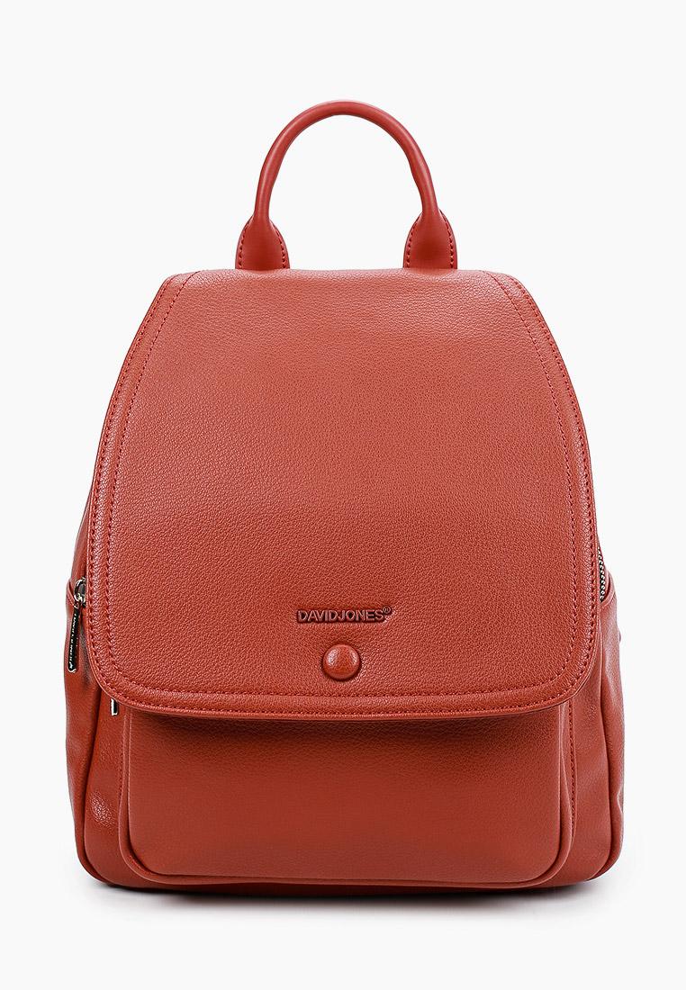 Городской рюкзак David Jones (Дэвид Джонс) 6504-2_охра