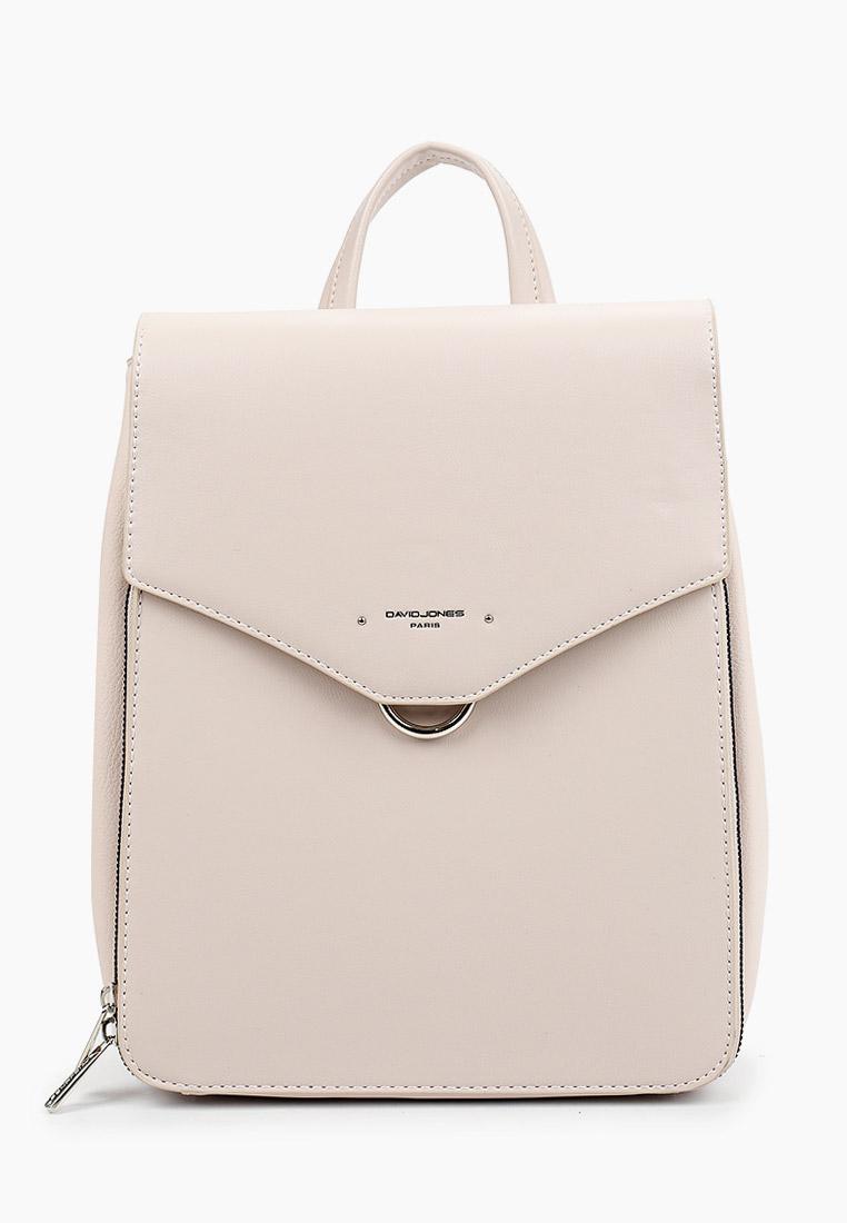 Городской рюкзак David Jones (Дэвид Джонс) 6507-2_белый