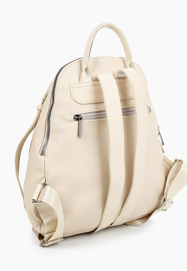Городской рюкзак David Jones (Дэвид Джонс) CM6026_бежевый: изображение 2