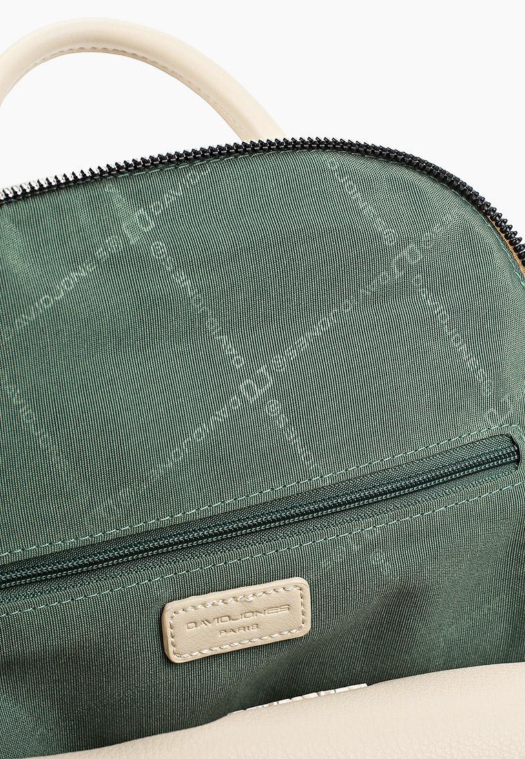 Городской рюкзак David Jones (Дэвид Джонс) CM6026_бежевый: изображение 3