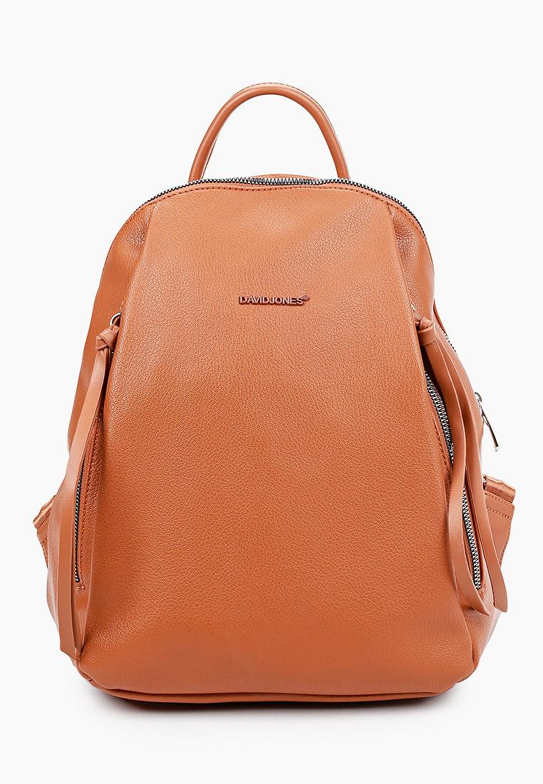 Городской рюкзак David Jones (Дэвид Джонс) CM6026_рыжий