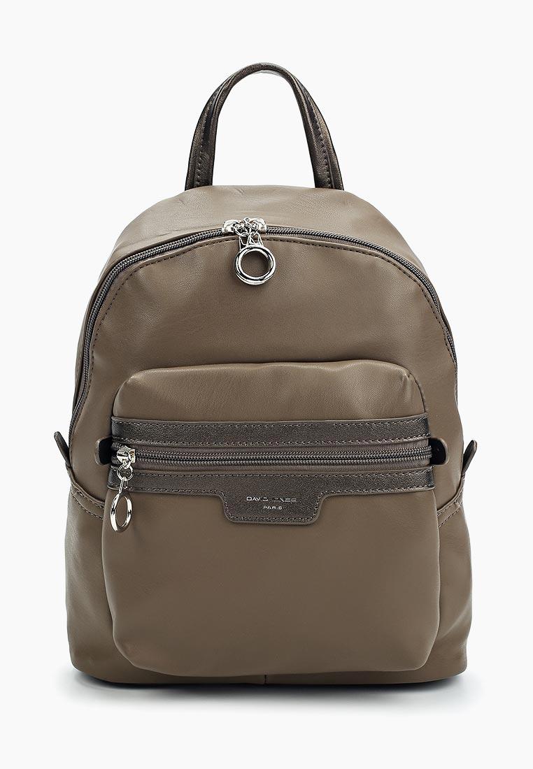 Городской рюкзак David Jones (Дэвид Джонс) СМ3530_кофе: изображение 1