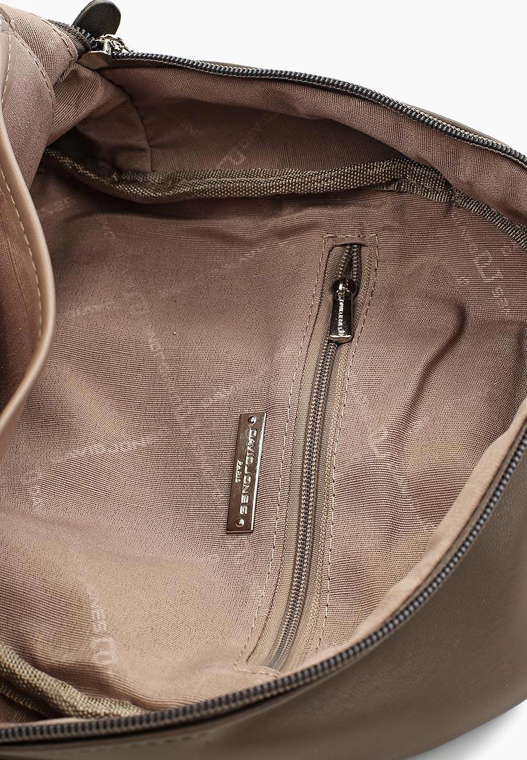 Городской рюкзак David Jones (Дэвид Джонс) СМ3530_кофе: изображение 3