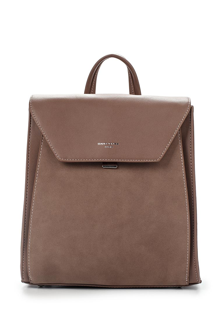 Городской рюкзак David Jones (Дэвид Джонс) 5658-2_розовый: изображение 1