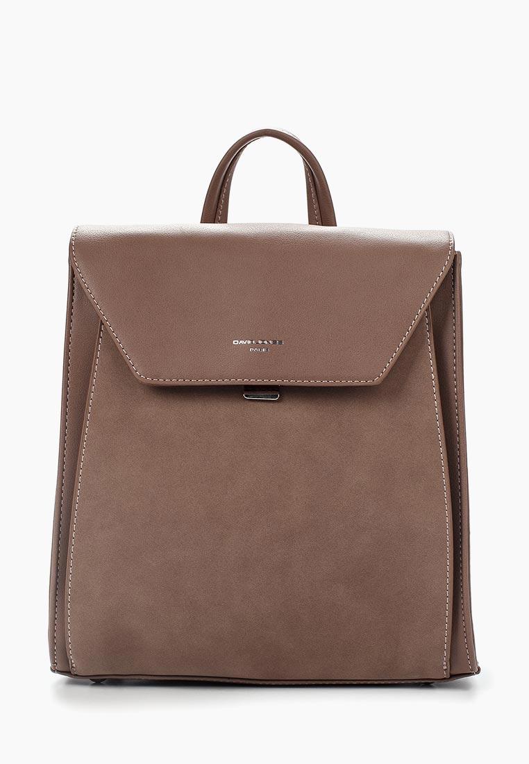 Городской рюкзак David Jones (Дэвид Джонс) 5658-2_розовый: изображение 2