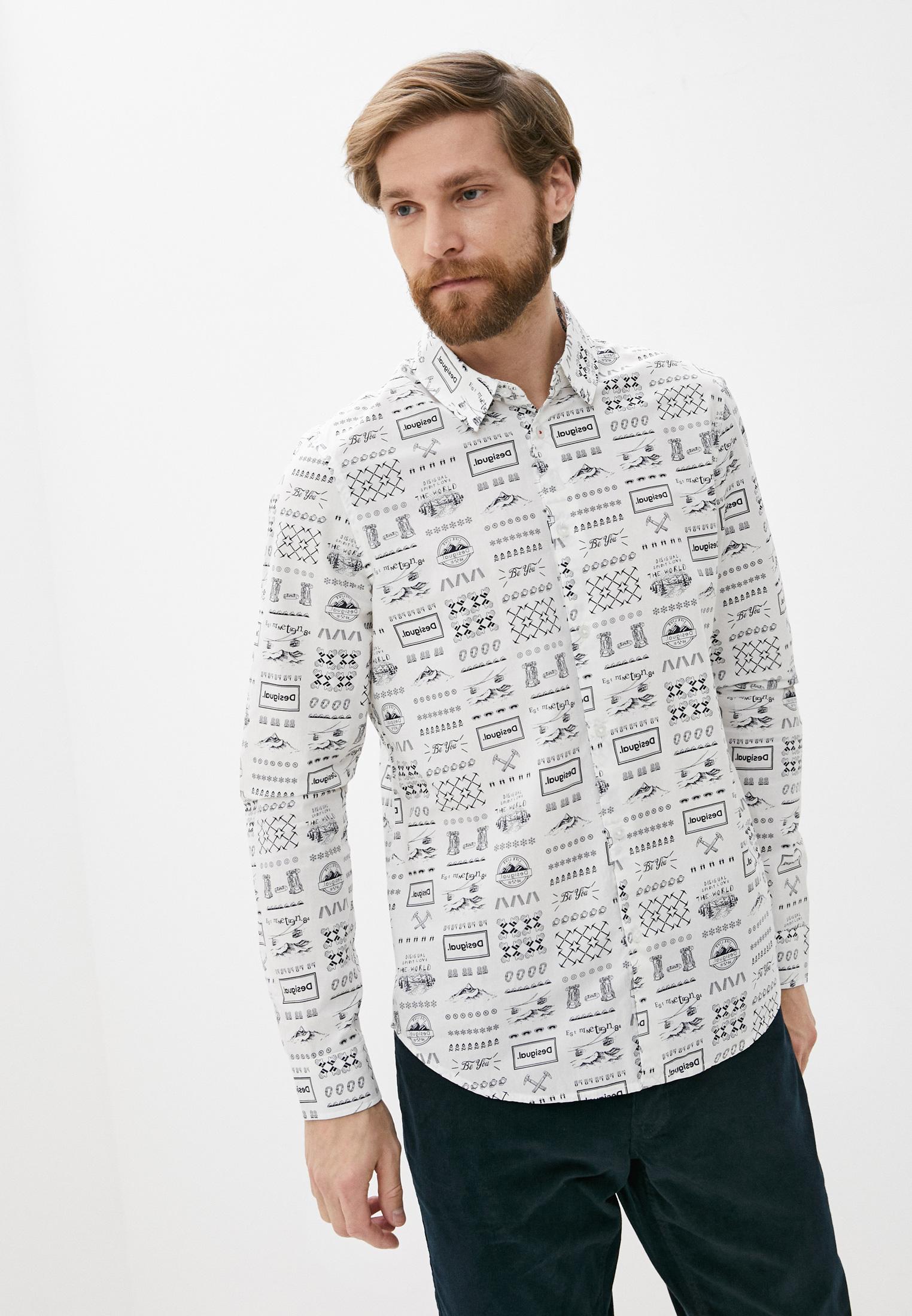Рубашка с длинным рукавом Desigual (Дезигуаль) 20WMCW40