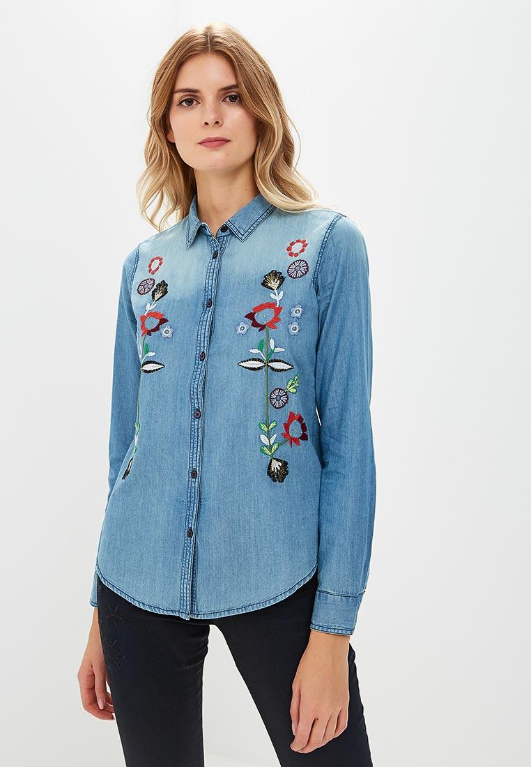 Женские джинсовые рубашки Desigual (Дезигуаль) 18WWCD06