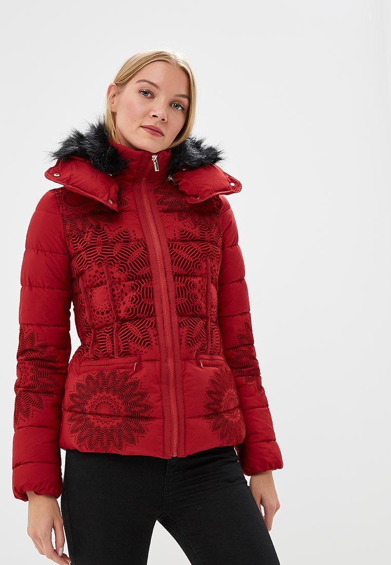 Утепленная куртка Desigual (Дезигуаль) 18WWEWAF