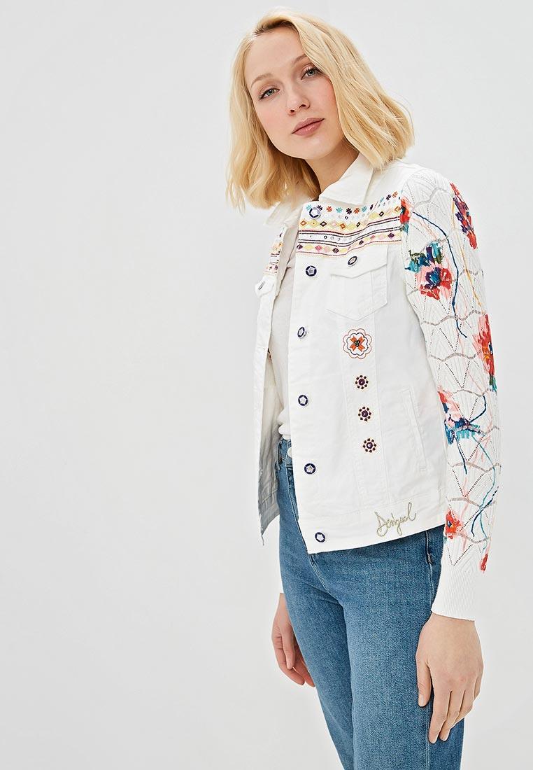 Джинсовая куртка Desigual (Дезигуаль) 19SWED04